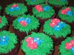 Easter Cadbury Creme Egg Cupcakes