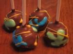 Paintball Cake Pops