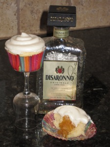 Pineapple Amaretto Cupcakes