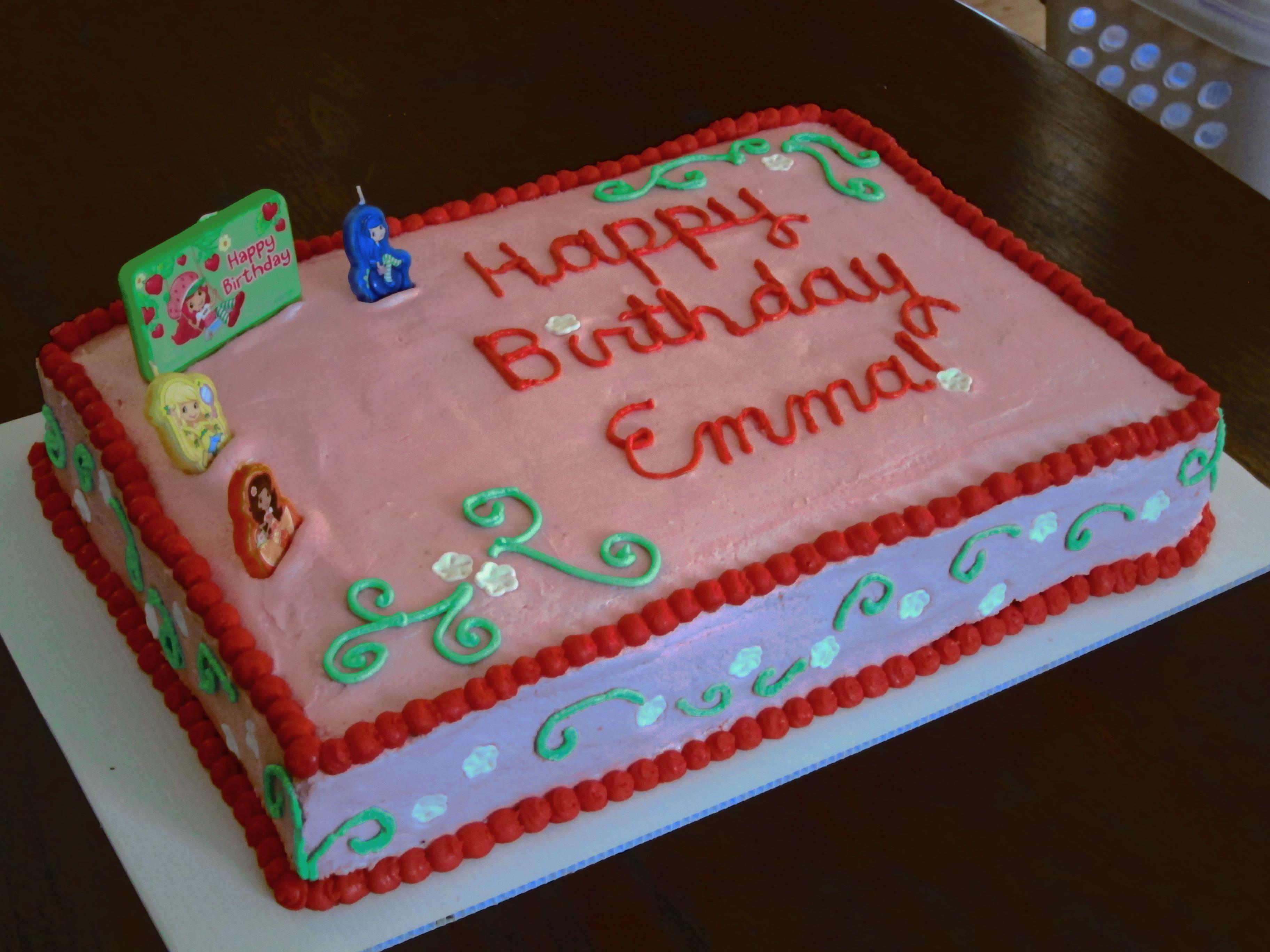 Strawberry Shortcake Cake The Sassy Apron