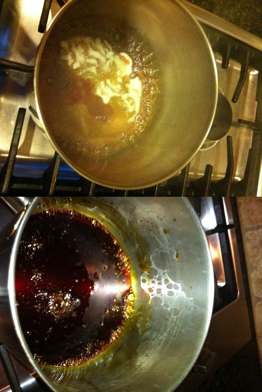 Burnt Sugar Maple Syrup Cake