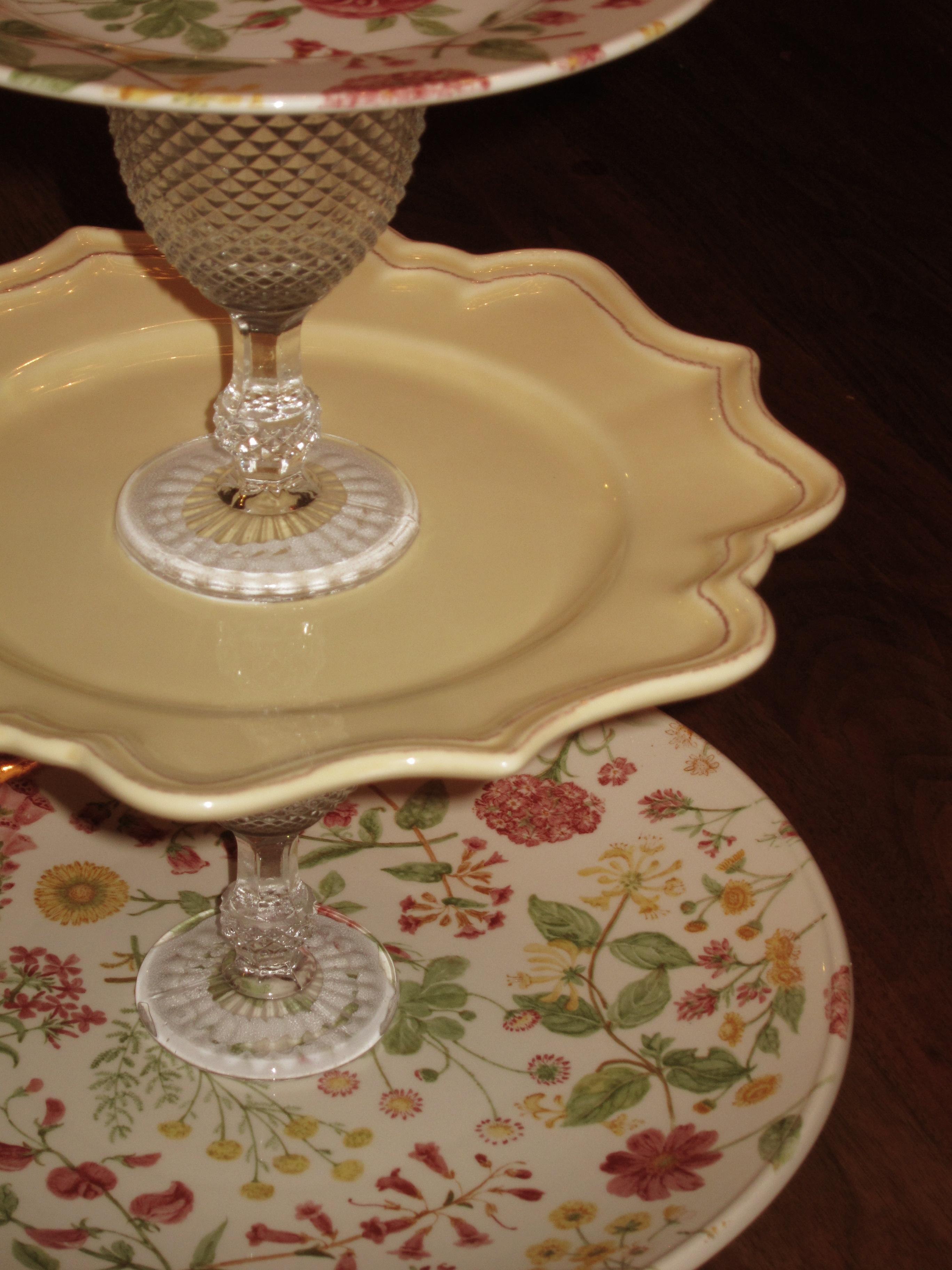 vintage cupcake stand the sassy apron. Black Bedroom Furniture Sets. Home Design Ideas
