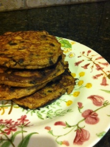 Paleo Chocolate Chip Pumpkin Pancakes