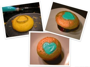 inverted cupcake