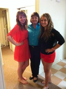 Momma B and her two girls (sorry brother)