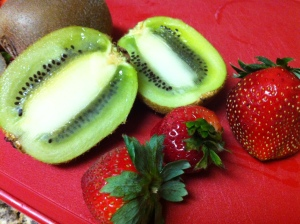 Strawberries and Kiwis