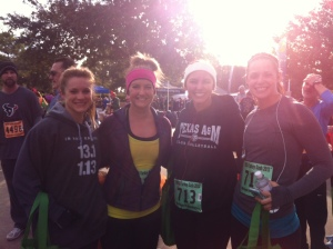 Freezing our tailfeathers off at this year's Turkey Trot