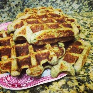 Paleo Zucchini Waffles
